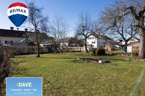 Grundstück für Einfamilienhaus mit bestehender Planung