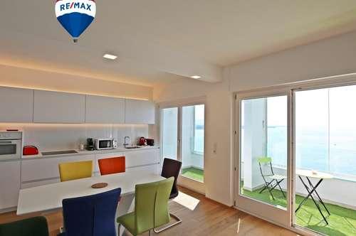3 Zimmer Wohnung in Lochau mit totalem Weitblick vom Säntis bis nach Konstanz zu vermieten