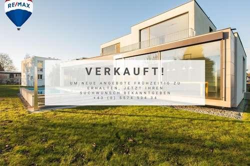 Exklusives Architektenhaus am Ende einer Sackgasse   Unverbaubaubare Aussicht, herrliche Alleinlage