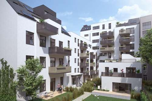 Urban in Mariahilf - Maisonette im Dachgeschoss