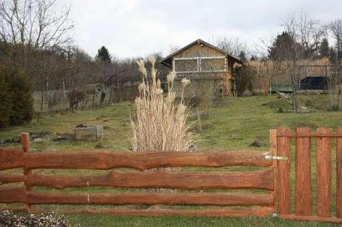 Alles auf großem Grundstück!! - Einfamilienhaus, Wintergarten, Nebengebäude, Pool, Naturteich