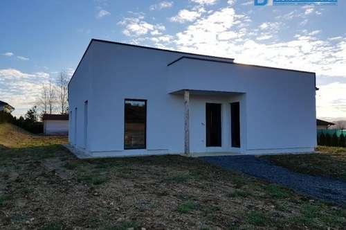 Modernes, lichtdurchflutetes Einfamilienhaus in Poppendorf wartet auf Fertigstellung, nahe Jennersdorf, Güssing und Fürstenfeld.