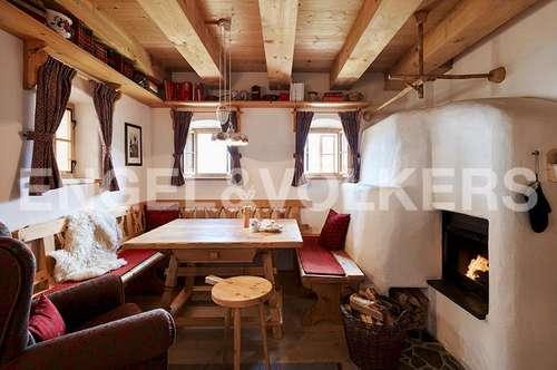 Exklusiver Zweitwohnsitz im Almdorf Seinerzeit - Die Sennhütte