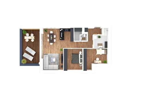 Moderne Terrassenwohnung in Stainz/ Haus 2 Top 4