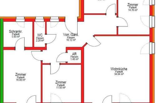 Wohnprojekt in Vorbereitung in Stainz/ Typ 6