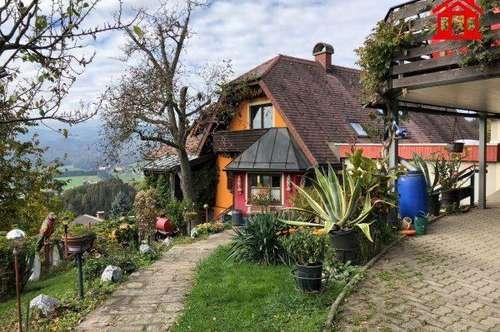 Einfamilienhaus und Gästehaus mit 3 Wohnungen in Bärnbach