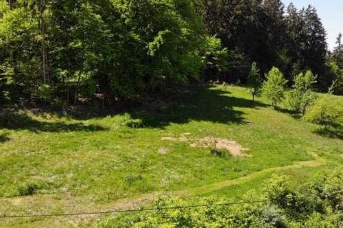 Baugrundstück in Waldrandlage in Dobl-Zwaring