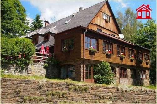 Almgasthof oder Ferienhaus mit Gästezimmern am Reinischkogel/ Naturschutzgebiet