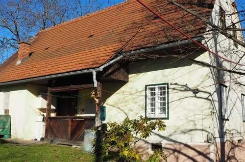 Sanierungsbedürftiges, kleines Einfamilienhaus mit großem Baugrund