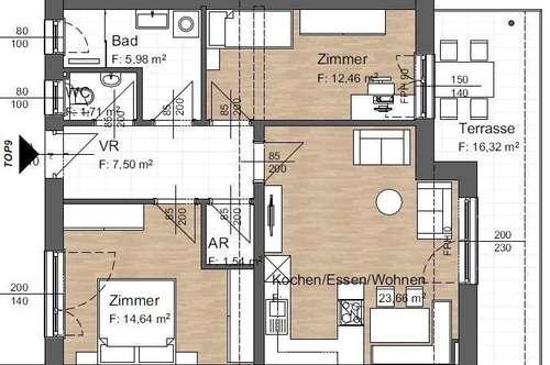 Wohnprojekt in Vorbereitung - Wohnungen von 45 bis 120 m²