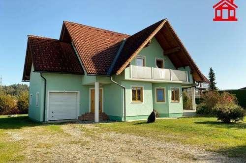 Großzügiges Einfamilienhaus mit Keller und Garage in Dobl-Zwaring