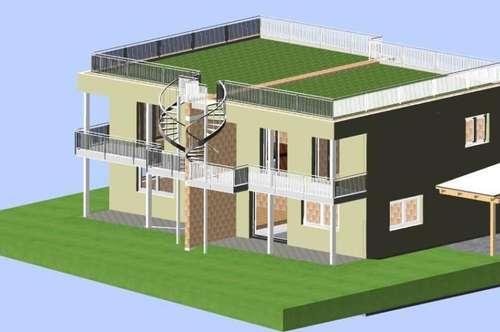 NEUBAU: Doppelhaushälfte in Graz-Liebenau mit überdachter Terrasse