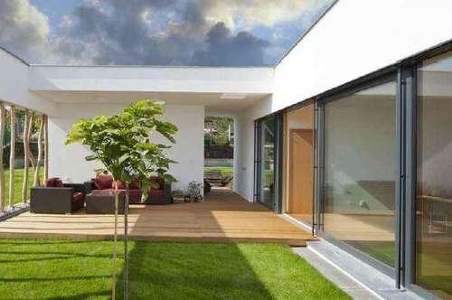 Wohnprojekt -  Neubau Einfamilienhäuser im Atriumstil in Dobl-Muttendorf