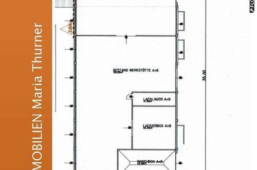 600 m² Hallenfläche für Produktion, Werkstatt,... in 9800 Spittal an der Drau