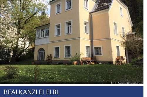 Wunderschöne Jahrhundertwendevilla von Arch. Ludwig A. Fuchsik