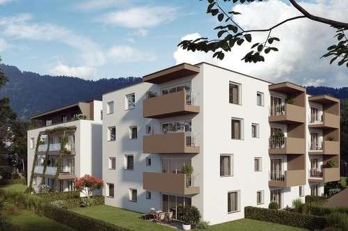 Wohnanlage Zell: 3-Zimmer-Gartenwohnung Top A2