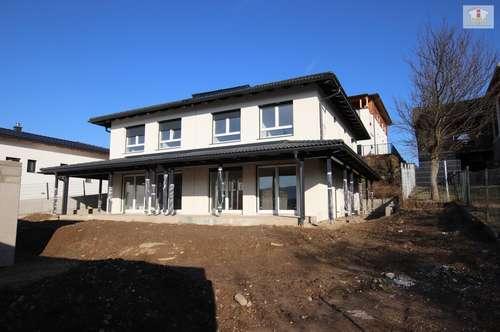 Hochwertige Doppelhaushälfte - Bezugsfertig - im Osten von Klagenfurt mit Doppelcarport