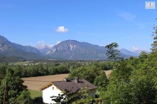 Baugrund 1.226m² in Maria Rain - Unterguntschach in toller Aussichtslage