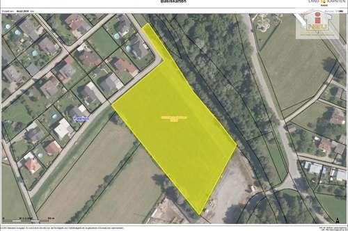 11.900m² Baugrund mit Widmung Industriegebiet in Neu-Feffernitz - Paternion, auch teilbar!