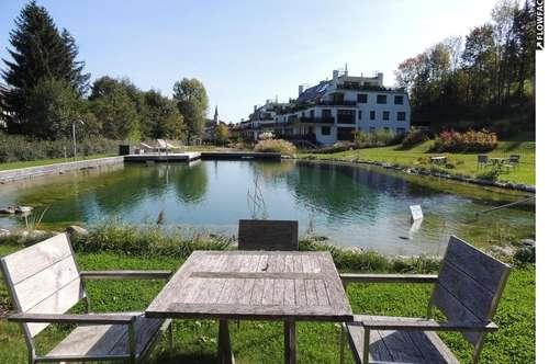 3400 Klosterneuburg, LUXUSANLAGE 13.000m2 Parkgarten mit 350m2 Pool, Fitness usw. NIEDERENERGIE! 151m2 plus 599m2 Eigengarten, 2 Terrassen 2 PKW Garagenplätzie Euro 740.000.-