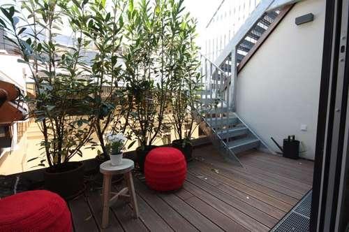 Exquisite Dachgeschoss-Terrassenwohnung