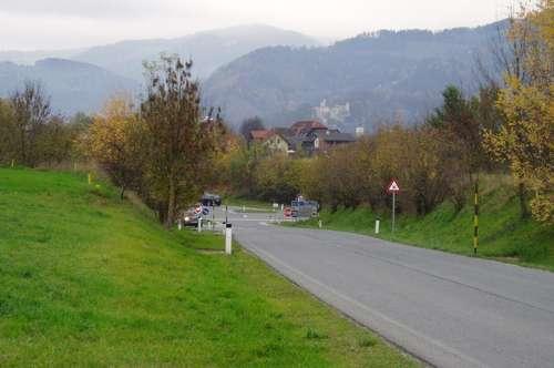Tolle Lage - Gewerbebaugrund in Wolfsberg Nähe Autobahnauf- bzw. Abfahrt