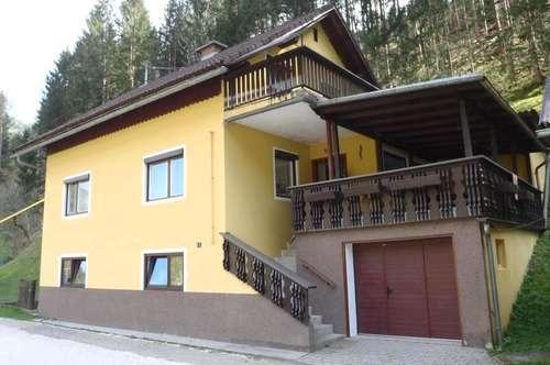 !Preisreduziert! Einfamilienhaus mit Nebengebäude Nähe Bad Eisenkappel