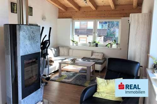 3-Zimmer-Dachwohnung mit Gartenanteil im vorderen Zillertal