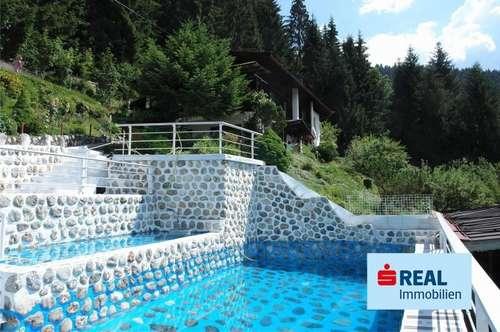 Itter oberhalb von Hopfgarten – Haus in Alleinlage mit Panoramablick und Pool auf ca. 2700 m² Grund!