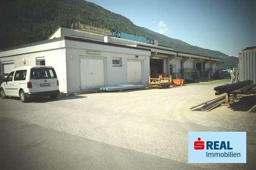 Betriebsliegenschaft - Lager-Werks-Produktionshalle mit Bürotrakt in Stams Gewerbegebiet
