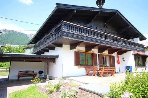 KAPITALANLAGE: Großzügiges Tiroler Landhaus mit Freizeitwohnsitz und Indoor Schwimmbad für bis 12 Personen