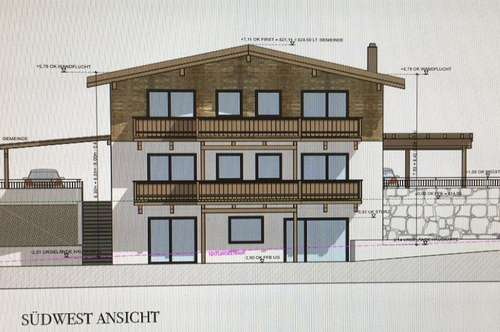 PILLERSEETAL: WAIDRING: Neubauprojekt 2019: 4 wunderschöne Eigentumswohnungen in einem großen Landhaus- Südlage unweit zum Skigebiet
