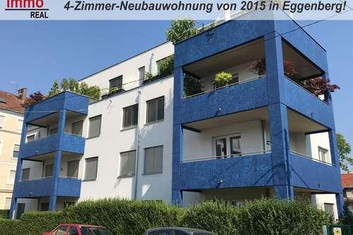 Top-Lage in Eggenberg! 4-Zimmer-Neubauwohnung von 2015 mit großem Balkon!