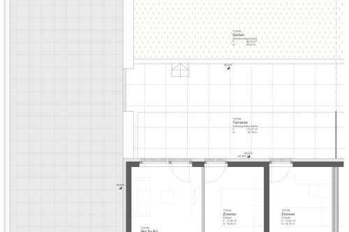Provisionsfreie Mietwohnung mit 265 m² Terrasse/Garten