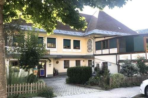 Kärnten, Gepflegtes Restaurant- Gasthof- Cafe + 3 Wohnungen 45, 90, 120 m²