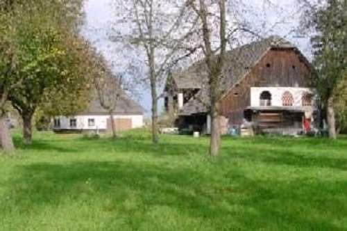 Alter Bauernhof mit 2 ha Grund