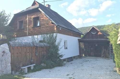 Naturpark- Gurktal: Reizendes, kleines Wohnhaus in ruhiger Lage