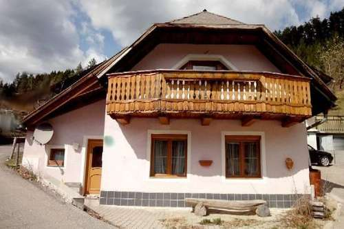 MIETE - Weitensfeld-Naturpark-Gurktal: Kleines Wohnhaus 70 m²