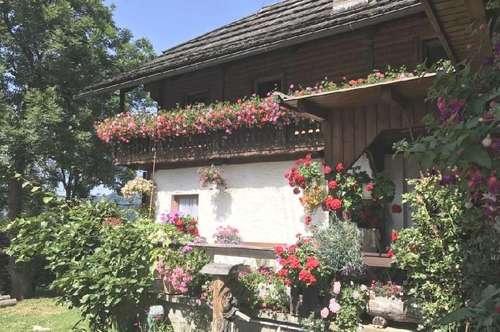 ALLEINLAGE, Bauernhof mit Traumblick, ruhige Südlage, Millstätterseenähe