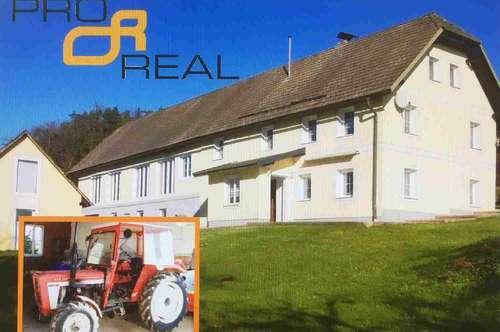 Alleinlage:NATURJUWEL für Genießer - Ausblick- Landwirtschaft mit Bestsanierter Hofstelle!