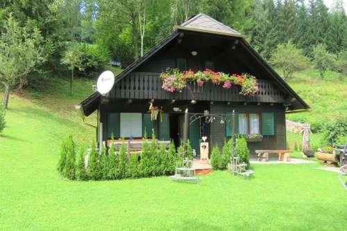 Maria Lankowitz - Gemütliches Wochenendhaus in bester Alleinlage