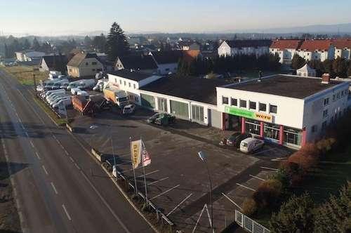 Werndorf: Großzügiges, helles Büro mit Lager und Werkhalle Nähe Cargo Center Graz