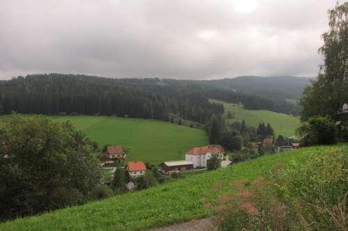 Hirschegg, Sonnengrundstück in Toplage!!
