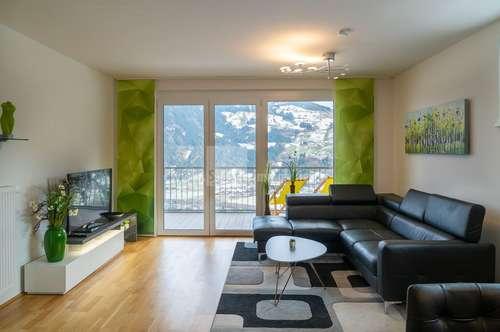 Renditeobjekt: Penthousewohnung im Zillertal - Traumhafte 3 Zimmerwohnung als Penthouse unmittelbar neben der Skipiste