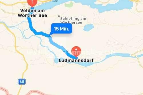 Haus mit zwei Wohneinheiten in Kärnten 15 minuten von Velden Am Wörthersee entfernt