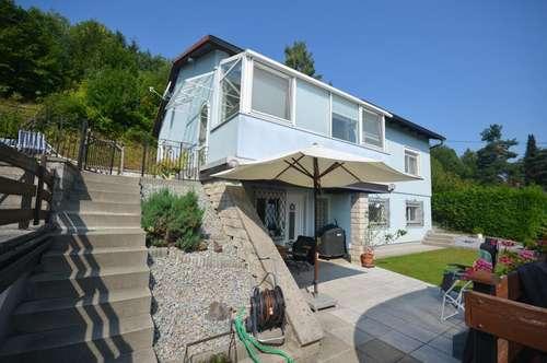Einfamilienhaus in schöner Aussichtslage in der Glasau!