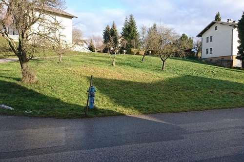 Schönes, sonniges Grundstück in Ottnang!
