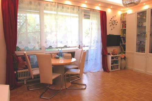 Freundliche helle Erdgeschoßwohnung in beliebter Wohnlage