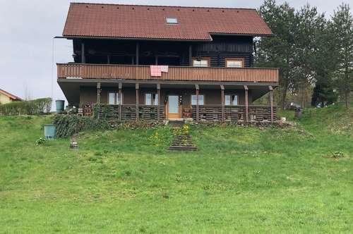 Tolles Holzhaus mit einzigartigem Ausblick in die Karawanken