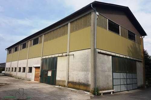 Lagerfläche mit ca.330 m² in Bodensdorf /Wieselburg zu vermieten